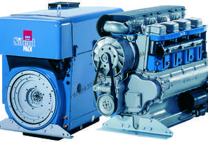 HATZ Air-Cooled 4-Cylinder Diesel 74HP Silent Pack