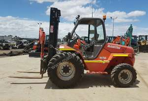 USED MANITOU 3T ALL TERRAIN FORKLIFT