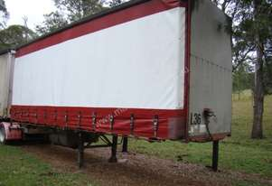 BARKER B-DOUBLE CURTAIN SIDE TRAILER