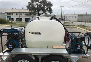 Pressure washer/fire fighting Trailer for Hire