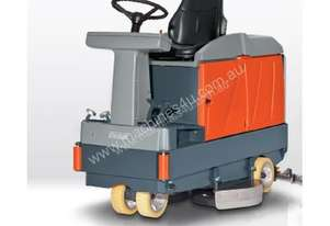 Hako warehouse floor scrubber