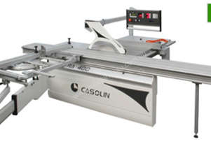 Casolin Astra-400-5-cnc panel saw with dust extractor