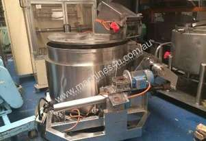 Scrape-sided mixer (s/s tilting jacketed with lid)