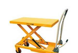150kg Hydraulic scissor lift table/trolley