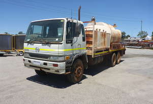 2002 Hino FM1J 6x4 Rigid Service Truck AUCTION