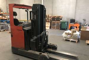 BT Reach Forklift Model RRB8 4.8m Lift 2500kg Mast 2.3m