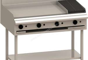 Luus BCH-9P3C 900mm Grill, 300mm Chargrill & Shelf Essentials Series