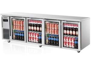 Skipio SGR24-4 Under Counter Refrigerator Four Glass Door