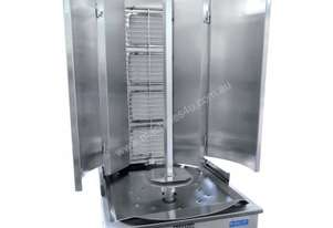 5 Burner Infrared Vertical Rotisserie - SWING Model