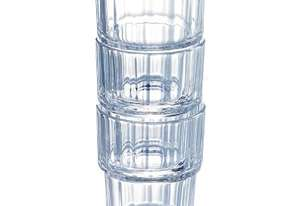 Arcoroc Norvege Stacking Old Fashioned Tumbler 250ml 8.75oz (Box 72)