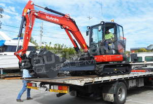 KUBOTA KX-57S U57 Excavator OPT Mine Spec MACHEXC
