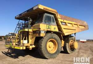 1997 Cat 777D Off-Road End Dump Truck