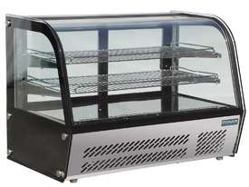 Polar GC874-A - Curved Glass Countertop Display Cabinet 160Ltr - picture0' - Click to enlarge