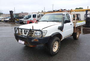 2003 Nissan Y61 Patrol 4x4 Tray Top Utility - In Auction