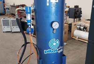 AIR RECEIVER TANKS Vertical & Horizontal. AIR DRYERS/OIL SEPARATOR. SCREW/ROTARY VANE COMPRESSORS