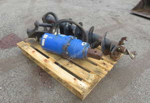 Used HIMAC AD7000MAX Auger Drive to Suit Excavator