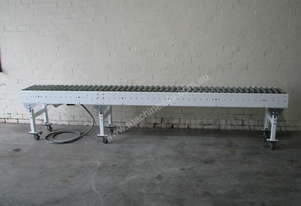 Motorised Roller Conveyor - 3.6m long