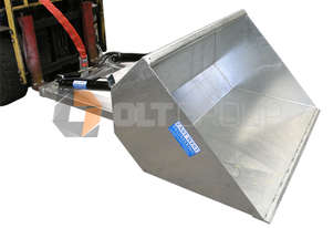Hydraulic bucket attachment for forklift 1200mm and 1800mm wide bucket options