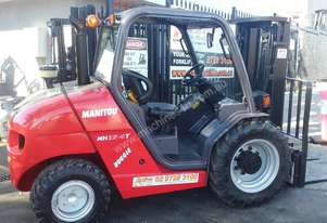 2007 MANITOU BUGGY MH25-4T CONTAINER ENTRY ALL TERRAIN FORKLIFT 4WD Low Hours