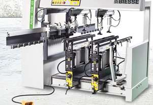 Biesse Active Drill Semi automatic 3 head Boring machine