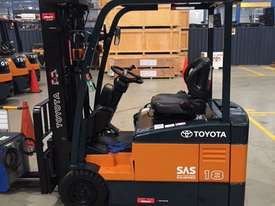 TOYOTA 7FBE18 4300MM CONTAINER MAST 4000 HOURS - picture0' - Click to enlarge