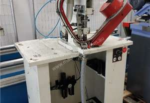 CARR AUTOMATIC EYELET MACHINE 2012 MODEL 16-FEI, PNEUMATIC IN 1 OPERATION ONLY. CAST IRON PUNCH $350