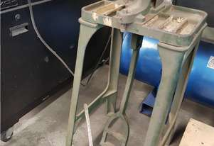 EYELET PUNCH CAST IRON FOOT OPERATED PRESS by CARR FASTENER CO. HAND OPERATED EYELET PUNCH