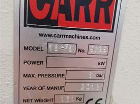 CARR AUTOMATIC EYELET MACHINE 2012 MODEL 16-FEI, PNEUMATIC IN 1 OPERATION ONLY. CAST IRON PUNCH $225 - picture2' - Click to enlarge