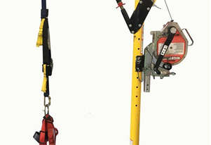 Miller Dura Hoist Safety System Pit Rescue Access Winch Lift Device