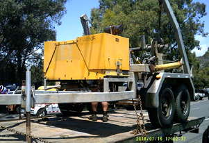 1.5ton self loader with drum drive , tandem axle ,