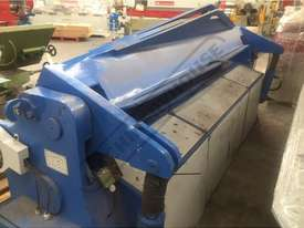 W62Y-3X2500 Hydraulic Panbrake  2500 x 3mm Mild Steel Bending Capacity - picture3' - Click to enlarge