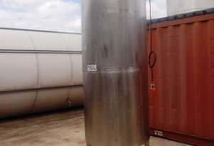 Stainless Steel Mixing Tank (Vertical), 1,000Lt