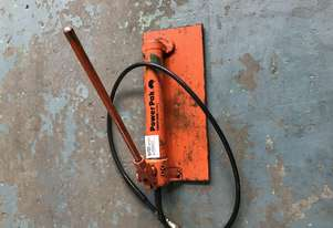 Porta Power Manual Hydraulic Pump PowerPak by Power Team 10000PSI