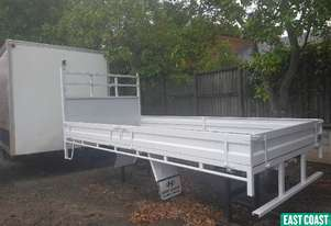 EAST COAST TRUCK SALES 4.5 X 2.2 STEEL TRAY  Tray Top