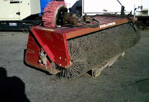 2000RW road broom for skidsteer