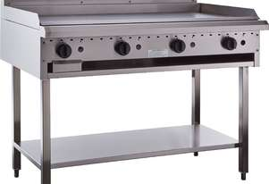 1200mm Griddle with legs & shelf