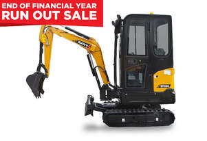 Sany SY18C 1.7T Mini Excavator - ON SALE
