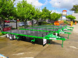 9 Ton Single Axle Flatbed Trailer ATTTAG - picture4' - Click to enlarge