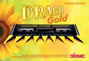 2020 Olimac Drago Gold Sorghum/Sunflower Head German Made Special  Offer Before July