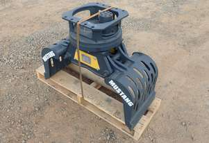 Mustang GRP150 Roating Hydraulic Grapple - Suit 2-5 Ton Excavator