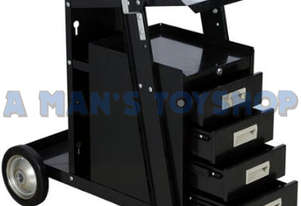 MIG WELDING CART WITH & 4  DRAWERS 45KG