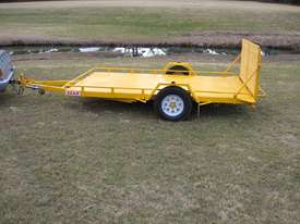 No.17 Single Axle Tilt Bed Plant Transport Trailer - picture0' - Click to enlarge