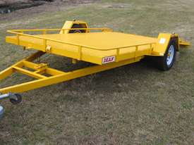 No.17 Single Axle Tilt Bed Plant Transport Trailer - picture1' - Click to enlarge