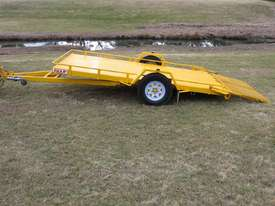 No.17 Single Axle Tilt Bed Plant Transport Trailer - picture2' - Click to enlarge