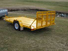 No.17 Single Axle Tilt Bed Plant Transport Trailer - picture3' - Click to enlarge