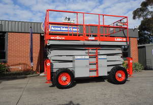 USED / REFURBISHED 2011 SKYJACK SJ-8841 ROUGH TERRAIN SCISSOR LIFT