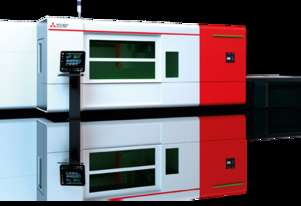 Mitsubishi GX-F Series Fiber Laser Cutting Machine with Autofocus Head and AI Powered System