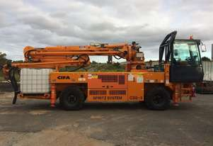 CIFA Spritz System CCS-3 (2013) Truck-Mounted Sprayed Concrete Boom Pump, Only 133 Hours