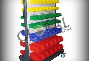 Global Mobile Shelving Spare Parts Trolley