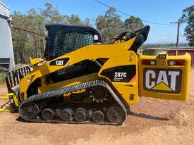 CAT 287C MTL Compact Track Loader High Flow XPS 2 Speed Hyd Quick Coupler - picture0' - Click to enlarge